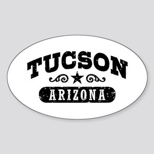 Tucson Arizona Sticker (Oval)